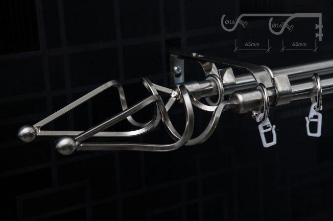 Garnišna - Dunja Srebro (dupla) - Ø16mm